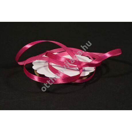 szatén szalag 6 mm x 20 m pink