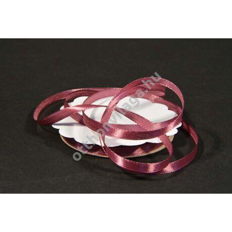 szatén szalag 6 mm x 20 m sötét rózsaszín