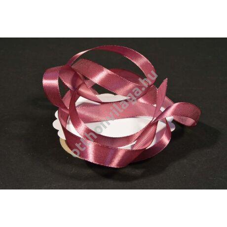 szatén szalag 12 mm sötét rózsaszín