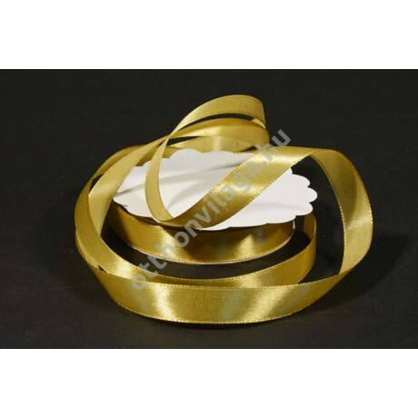 szatén szalag 12 mm arany