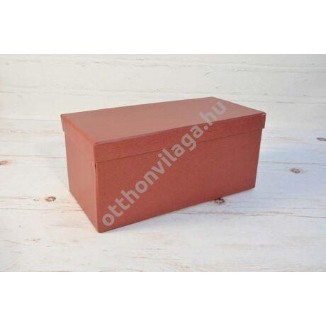 bordó doboz