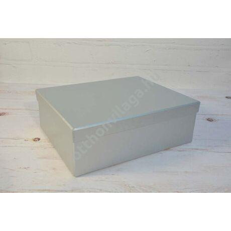 ezüst doboz
