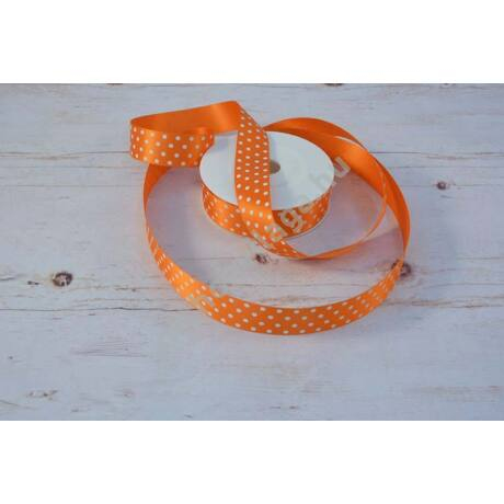 narancs pöttyös szalag